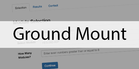 ground mount
