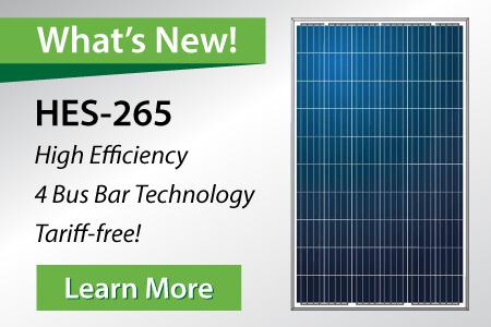 HES-265 Solar Panel