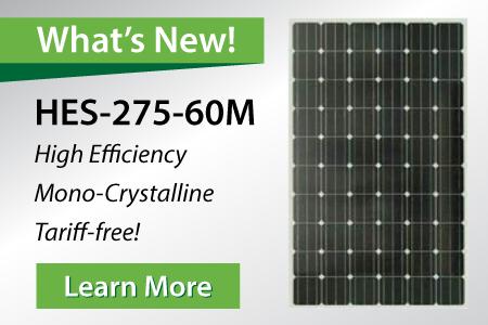HES-275-60M Solar Panel