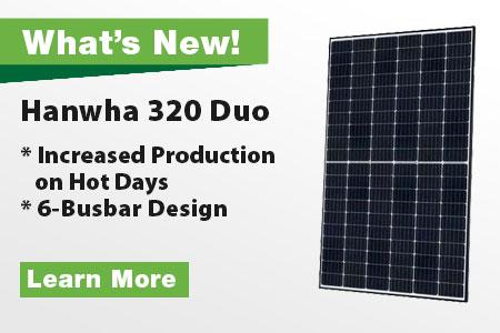 Hanwha Solar Duo 320