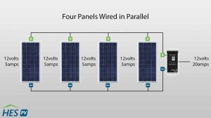 parallelDiagram_updated 300x168 how to wire solar panels in parallel or series hes pv blog hes pv