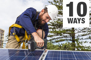 10 Ways to Speed Residential Solar Installations