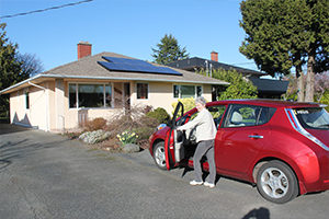 Electric Vehicles and Solar Charging