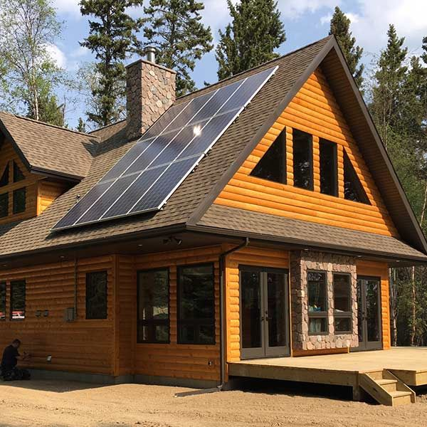 Off Grid Cabin Alberta