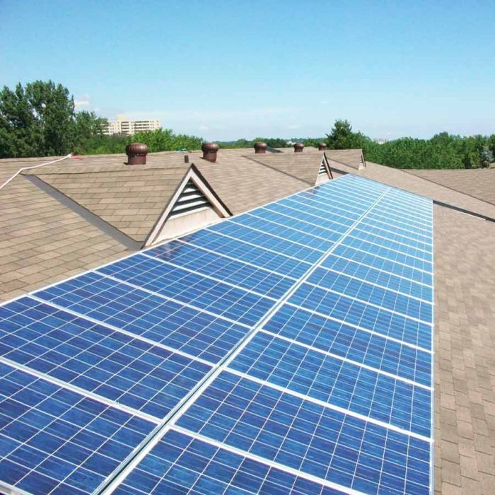 110kW Community Rooftop Projects