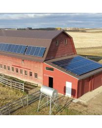 Grid-tied 17 kW Solar Farm