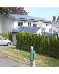 Gordon Head Solar Home: 8kW Solar System Lowers Power Costs