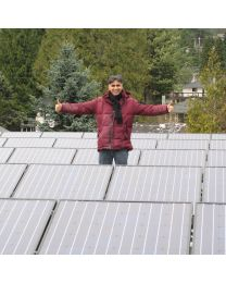 BC Solar Home with 10kW Sharp Solar Array