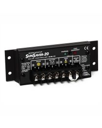 Morningstar SS-20L-24 - SunSaver 20 Amp Regulator W/ LVD,TC - 24VDC