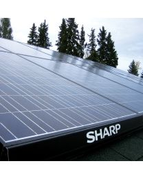 2.4kW Solar Electric System Provides Backup Too