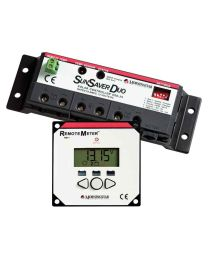 Morningstar solar controller with remote meter