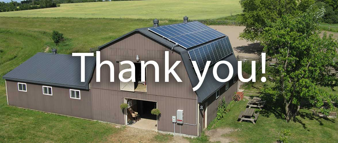 Thank you from HES PV