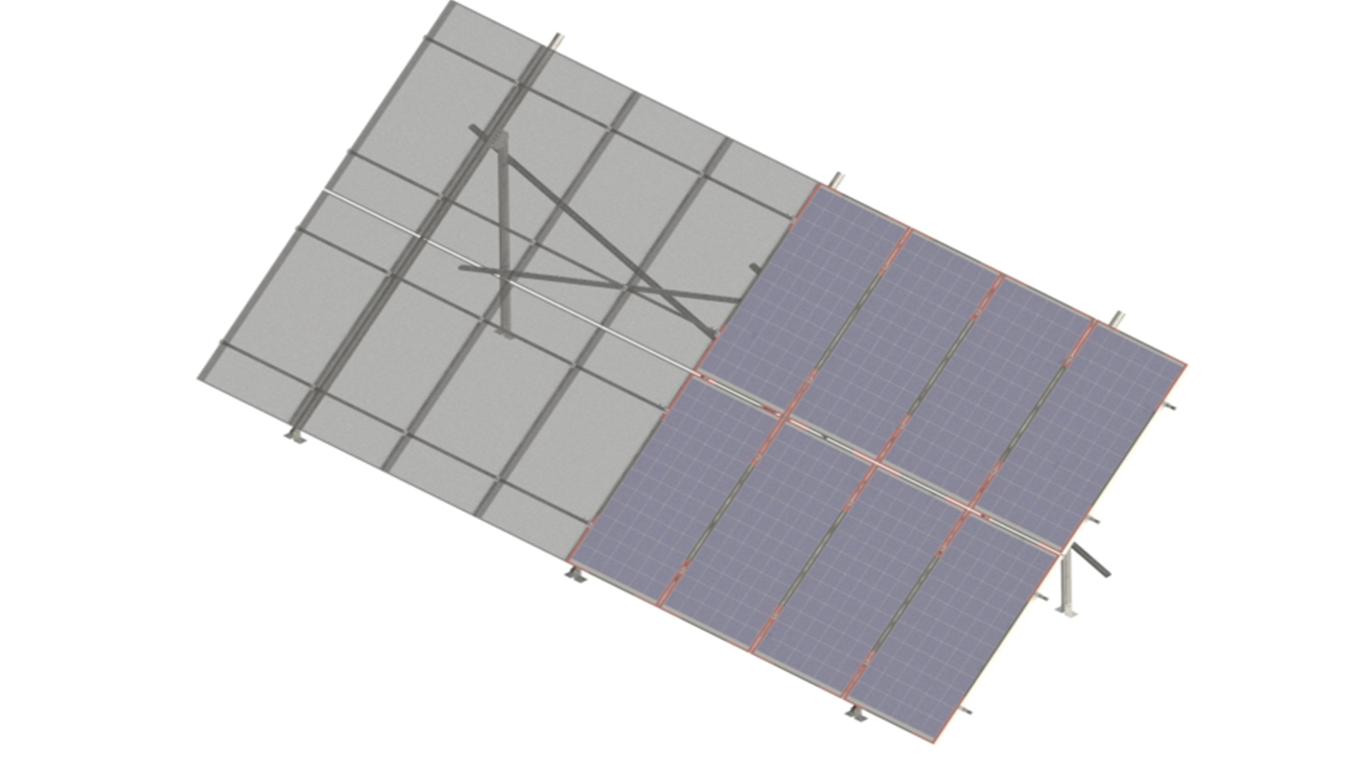 Ground Mounts - Mounts - Grid-Tie - Residential Solar | HES PV